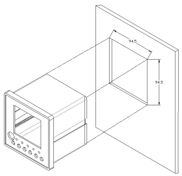 电气火宅监控探测器尺寸-2