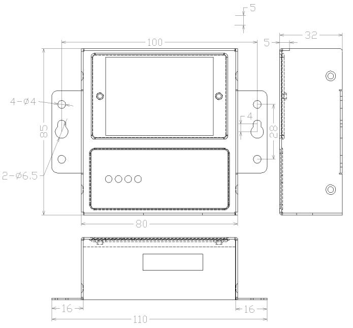 F2X46-DK外形尺寸图